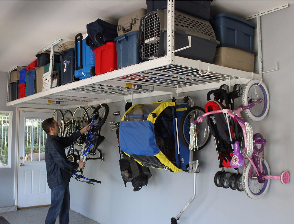 Ceiling Storage Overhead Racks