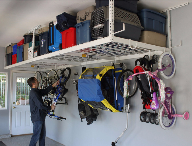 Hidden In Plain Sight - Garage Organization Solutions - Ceiling Storage Space