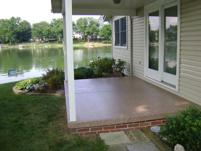 FlexCore™ Floor Coatings for your Concrete Patio!