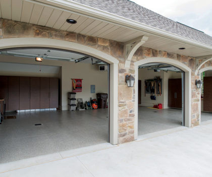 Planning Your Custom Garage Space in New Home