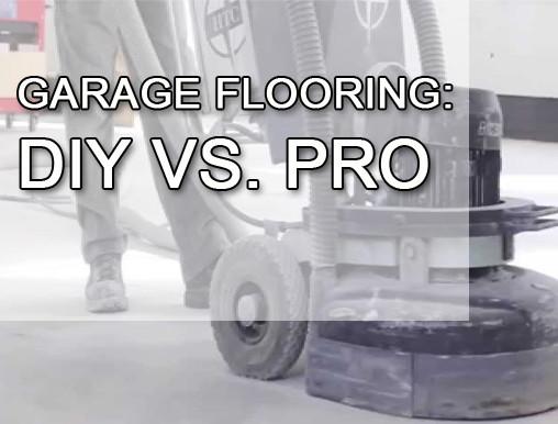 GARAGE FLOORING: DIY VS. PRO