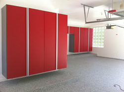 Red-Cabinets_Extruded Aluminum Handles