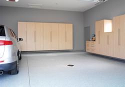 Hard Rock Maple Garage Cabinets 2