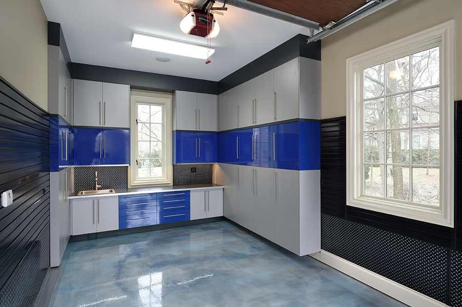 Silver_blue_Garage Cabinet Laminate_wood_6