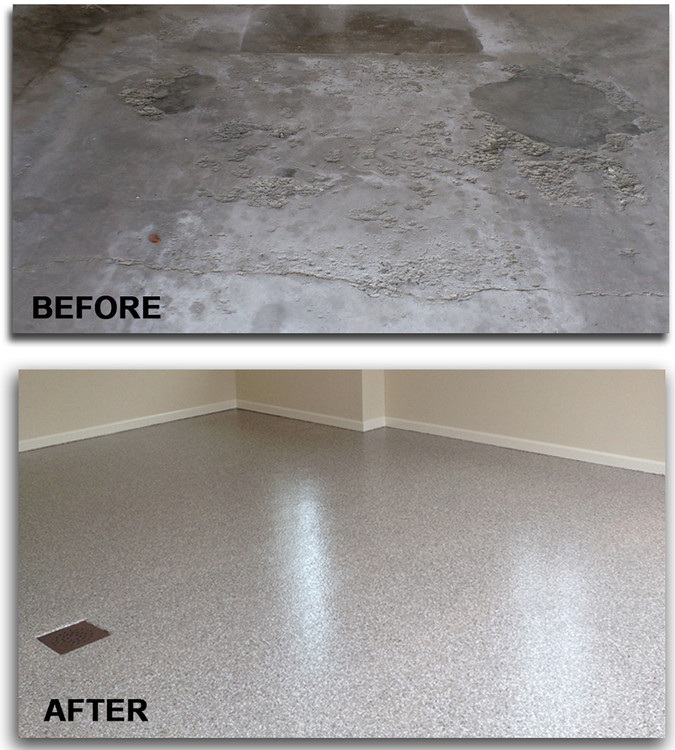 Protecting Your Garage Floor From Winter Salt Damage in Akron, Cleveland, Columbus & Pittsburgh