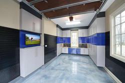 Durable Wood Garage Cabinets