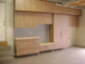 garage cabinets, signature wood Cabinets in Strongsville, OH
