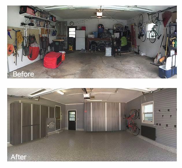 Medina, OH - Garage Transformation