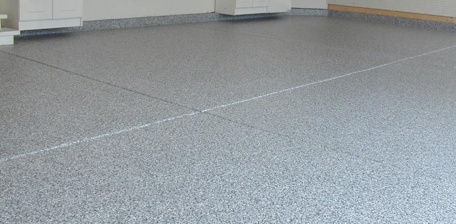 Decorative epoxy floor coating