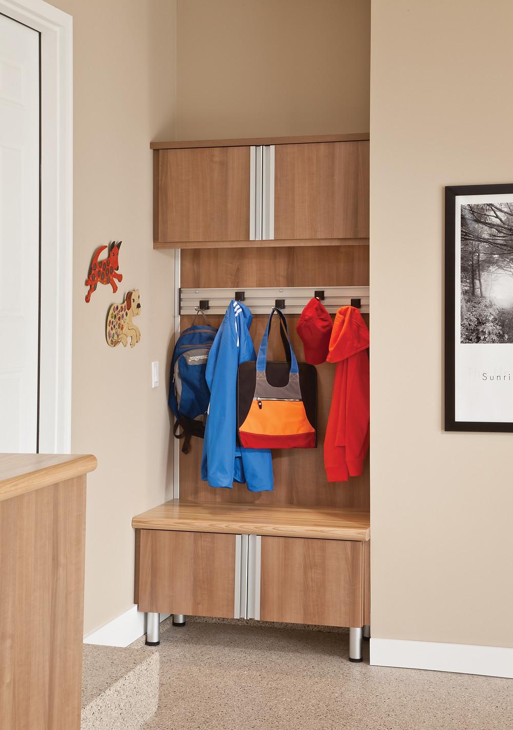 Transition Zone - Garage Cabinets