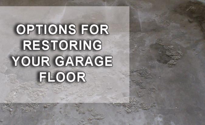 HOW TO FIX AND RESTORE YOUR GARAGE FLOOR