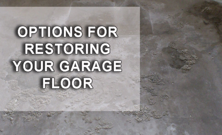 RESTORE YOUR GARAGE FLOOR CRACKS AND STAINS