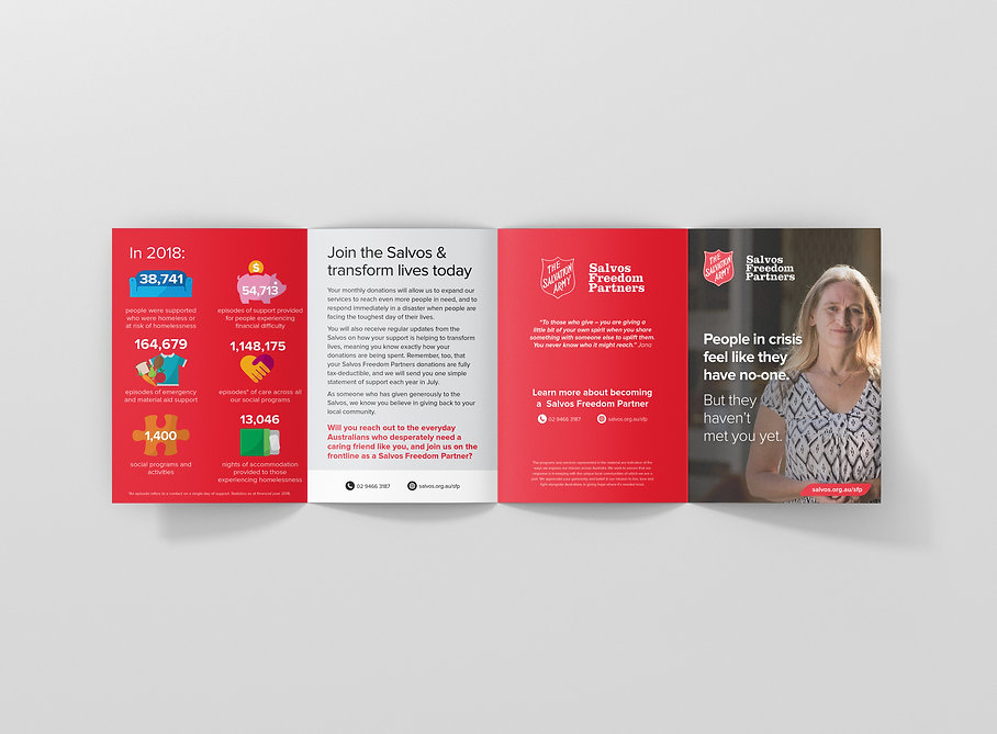 Brochure and direct marketing design