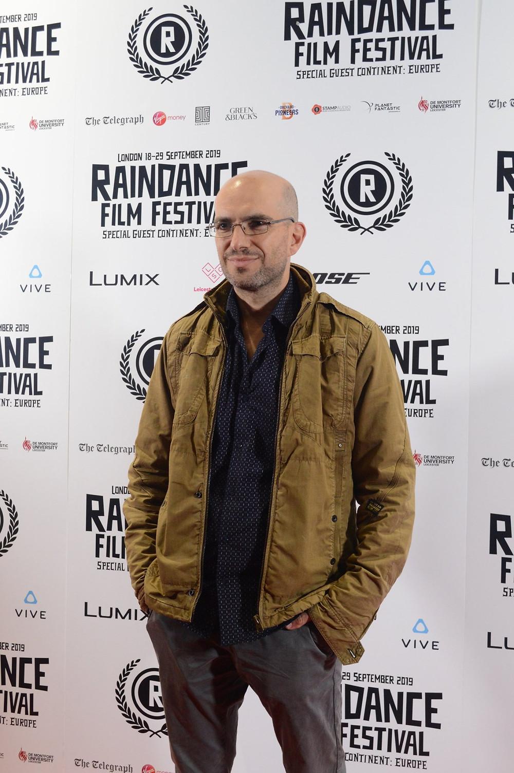 director Lukas Agelastos at Raindance