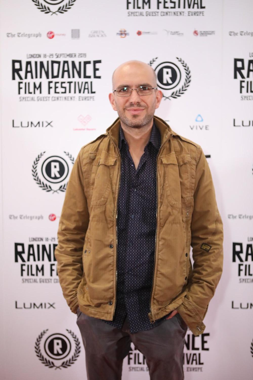 Director Lukas Agelastos at Raindance 2019