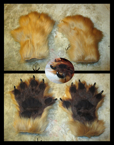 Demon Wolverine Paws
