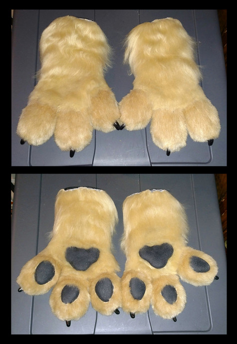 Demon Ferret Paws
