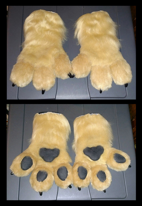Demon Ferret Paws