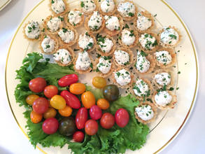 Chicken Salad in Phyllo Cups