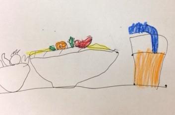 salad illustration