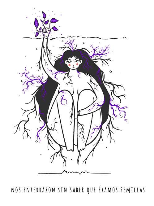 Mujer semilla