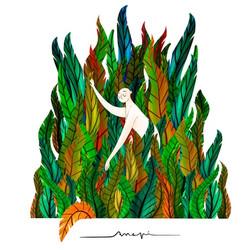 Ana Pi -Ilustración selva
