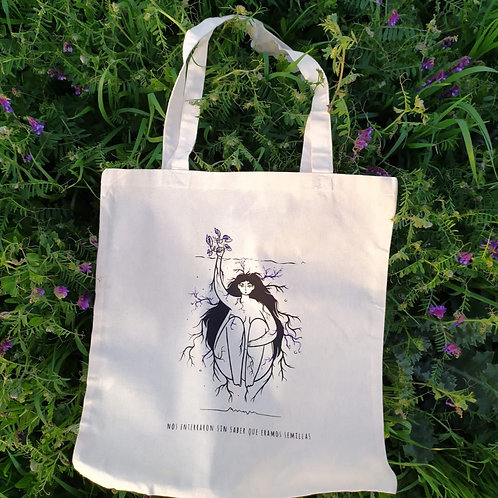 Tote bag - Mujer semilla