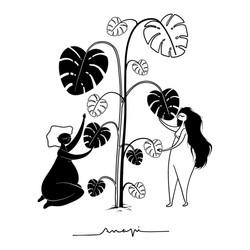 Ana Pi -Ilustración  Mujer
