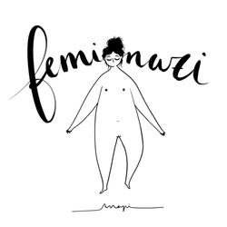 Ana Pi - Ilustración feminazi