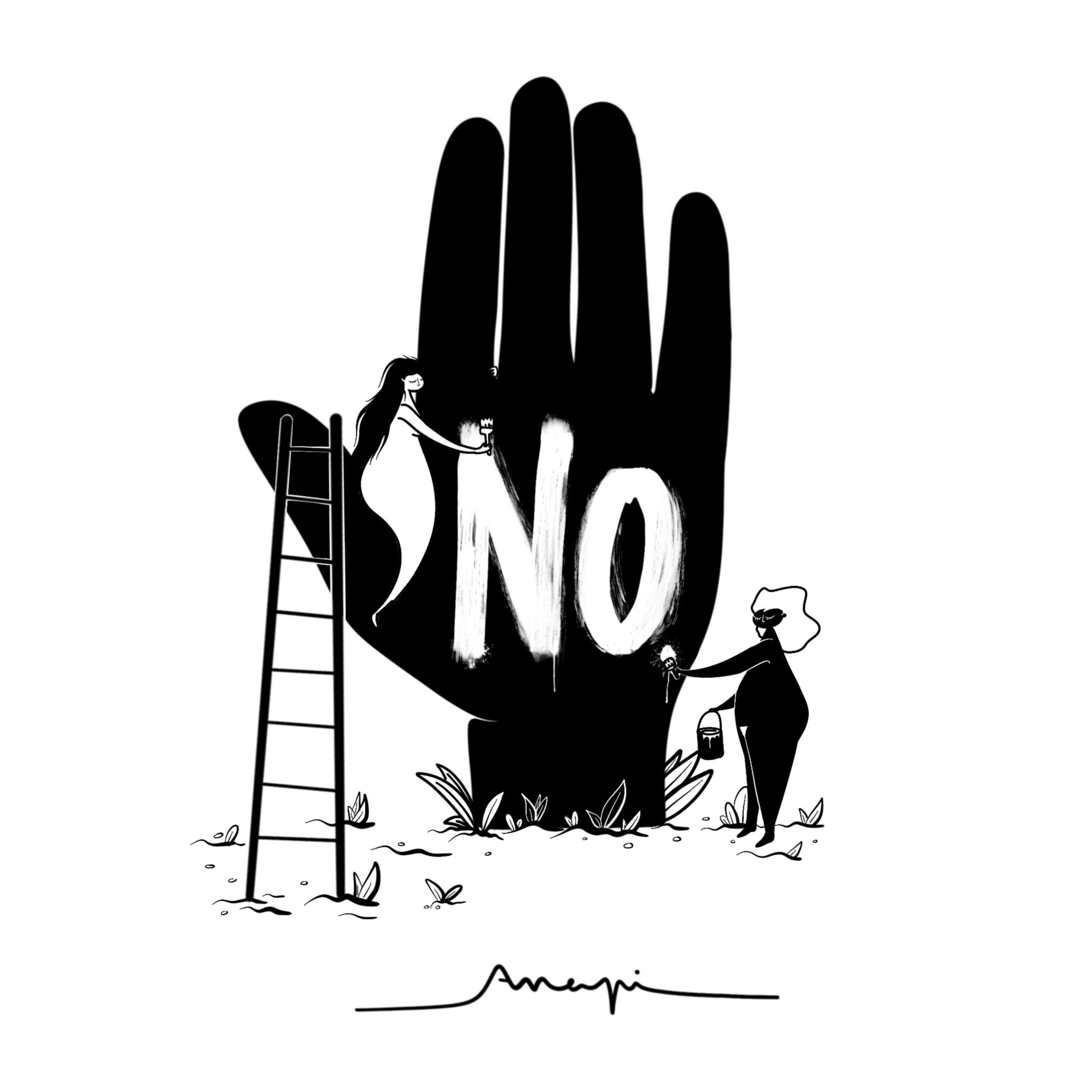 Ana Pi - Ilustración NO