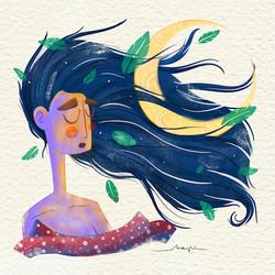 Ana Pi -Ilustración oniria