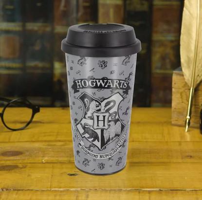 Hogwarts Plastic Travel Mug
