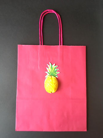 Pineapple Paper Party Bag