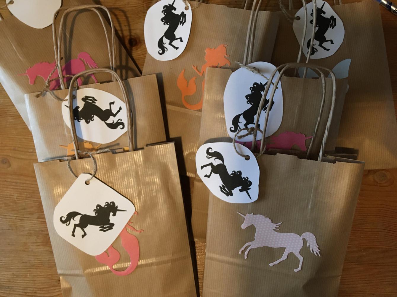 Unicorn Party Bag