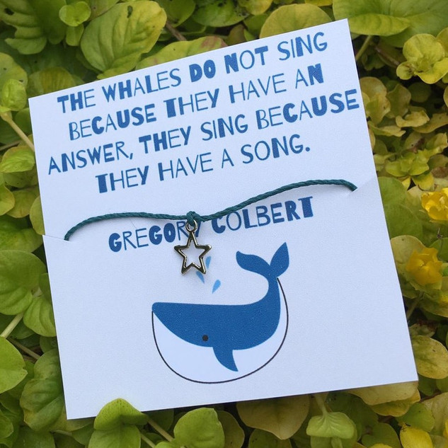 Whale Song Wish Bracelet