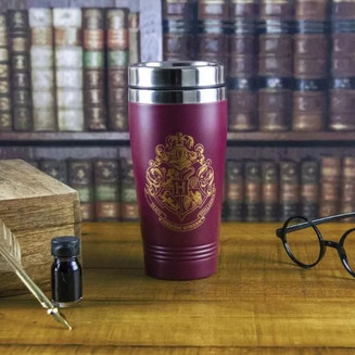 Harry Potter Metal Travel Mug