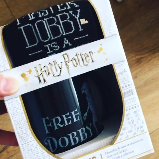 Dobby is a Free Elf Socks & Mug Set