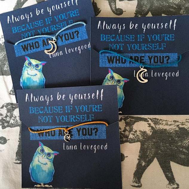 Luna Lovegood Wish Bracet