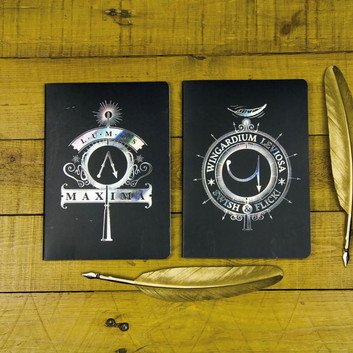 Wingardium Leviosa Notebooks (set of 2)