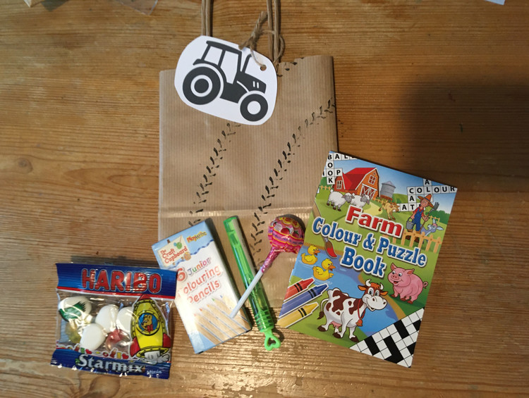 Tractor Party Bag