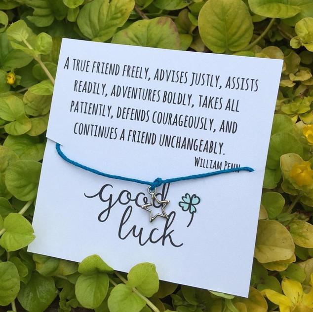 True Friend Wish Bracelet