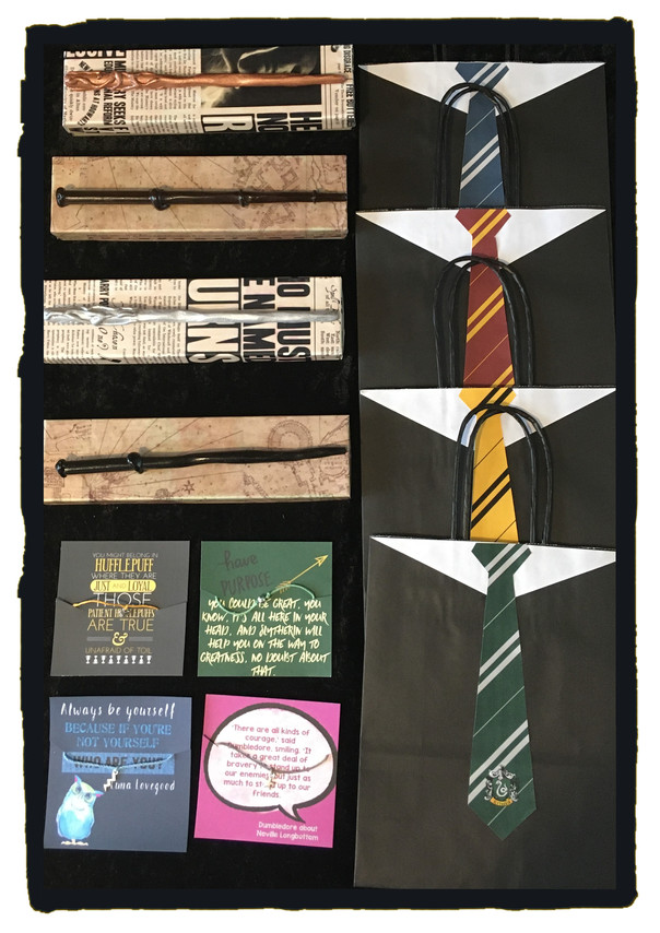 Hogwarts Wizard Party Bags