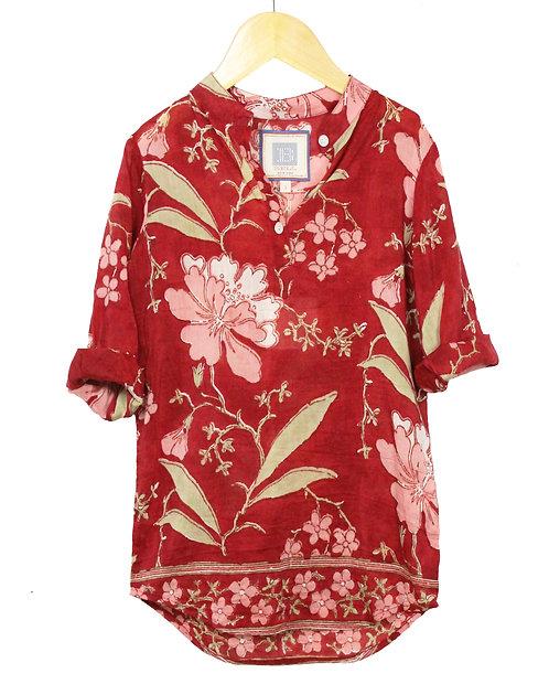 Floral Popover Dress