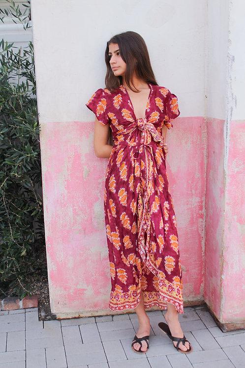 Cindy Wrap Dress