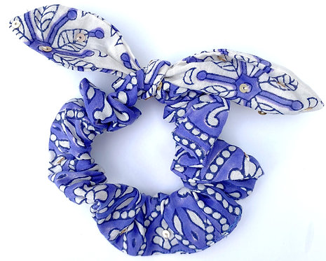 Beaded Scrunchie bow