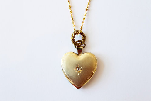 heart vintage locket