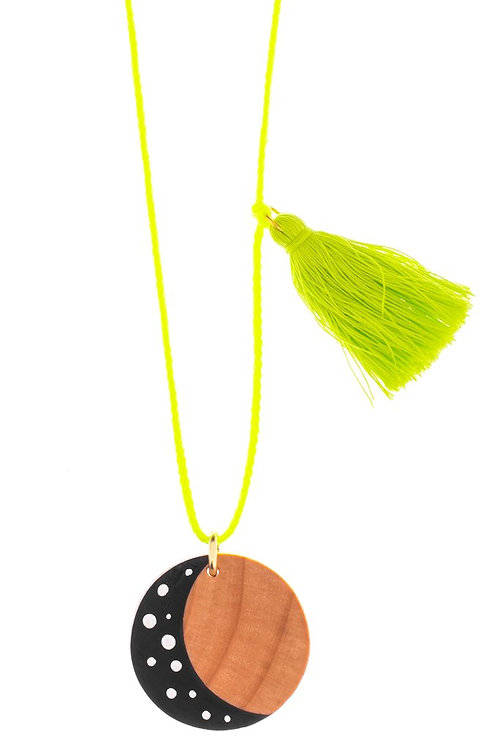Gunner & Lux Moon Necklace