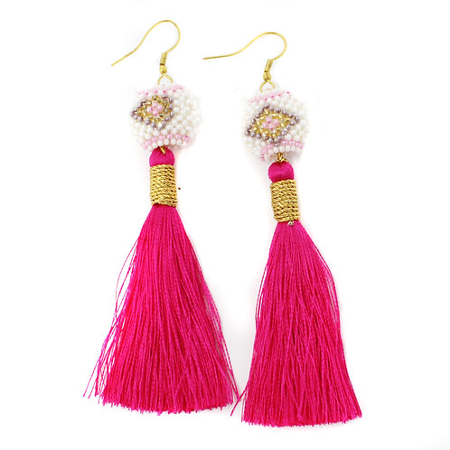 Hot Pink Kai Earrings