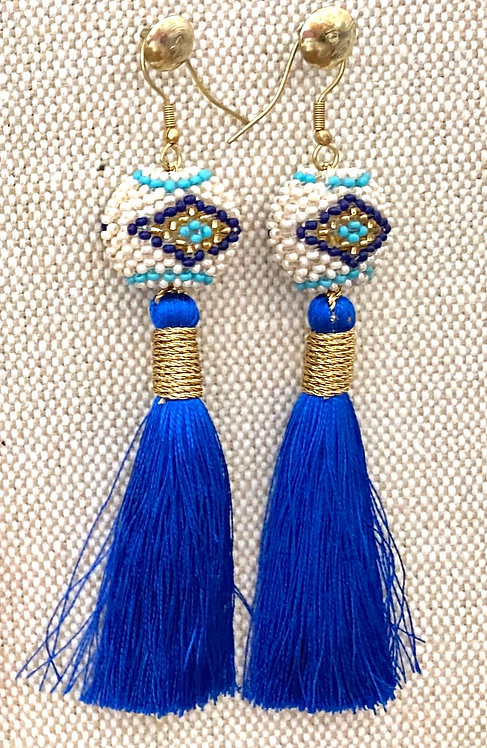Royal Blue Kai Earrings