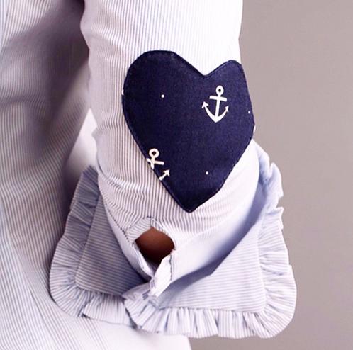 Anchor heart shirt